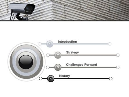 surveillance camera powerpoint template backgrounds