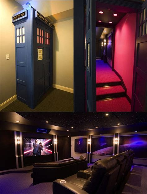 tardis room tardis home theater themed rooms bars restaurants theater we and dr who