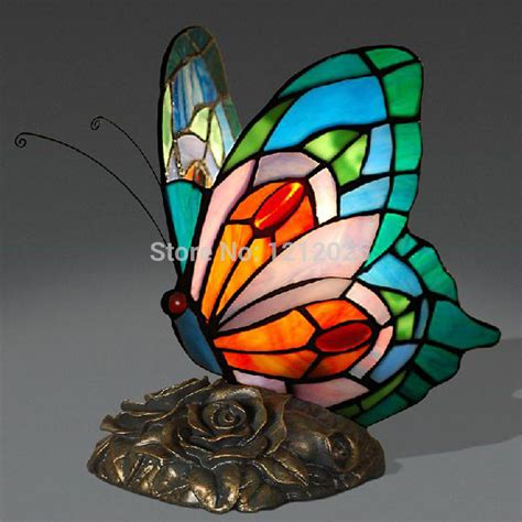 Stained Glass Butterfly L by Aliexpress Buy New Stained Glass Butterfly