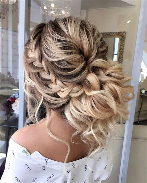 formal hairstyles messy bun with braid 54 updo braided wedding hairstyles bridal hairstyle