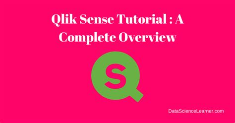 qlik sense server tutorial qlik sense tutorial a complete overview for beginners