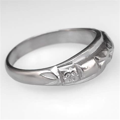 asian wedding band ring platinum size 6