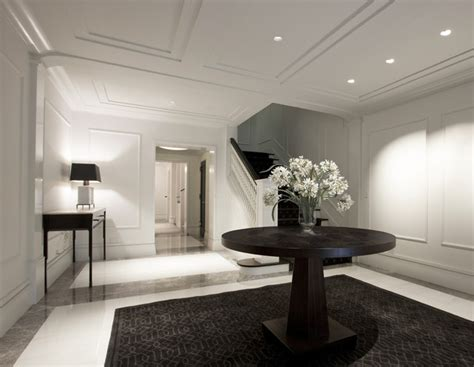contemporary foyer houzz entry foyer contemporary entry chicago by dspace