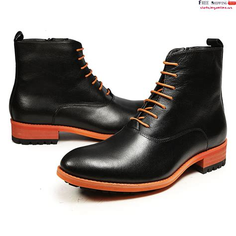 mens dress boots fashion black dress boots with lastest photo in canada