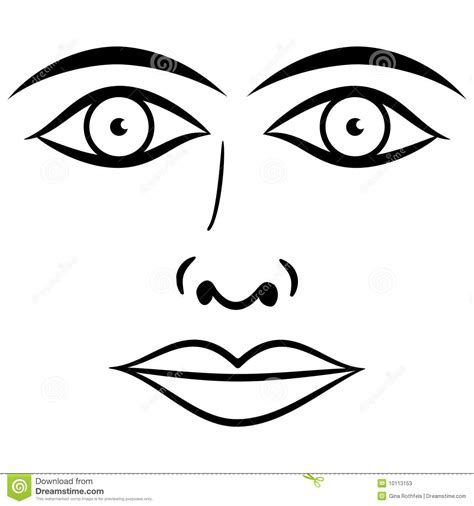 Eyes And Lips Clipart Clipground
