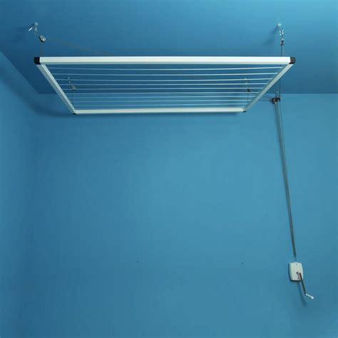 Sechoir A Linge Plafond by Etendoir Plafond Avec Manivelle