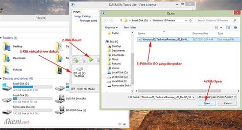 cara membuat file iso dengan daemon tool cara mount image file iso nrg menggunakan daemon tools