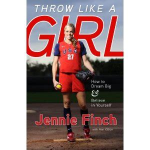 biography book on jennie finch jennie finch book signing event throw like a girl