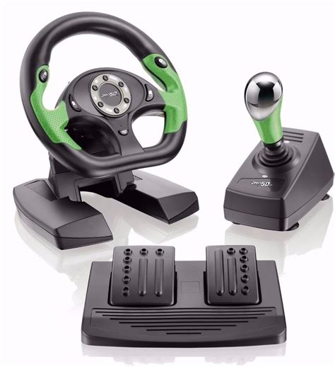 volante xbox 360 volante para xbox 360 e pc usb pro50 c pedais e c 226 mbio