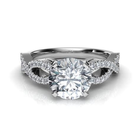 Wedding Ring Infinity Design by Infinity Design Engagement Ring