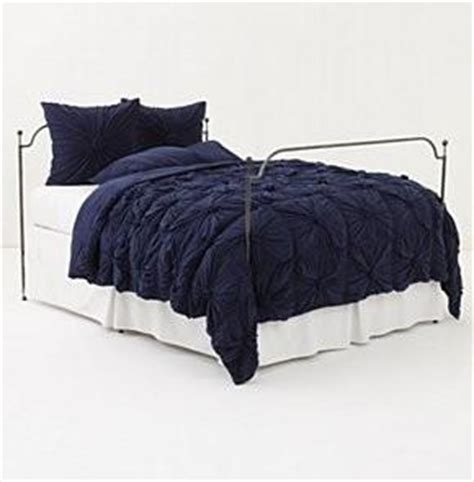 Navy Blue King Quilt Nwt Anthropologie Rosette King Quilt Comforter Navy Blue