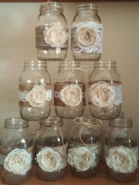 25  best ideas about Rustic mason jars on Pinterest