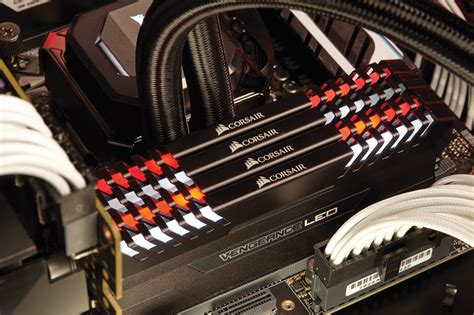ddr4 ram with led lights corsair lights up ddr4 with vengeance led performance