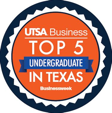 Utsa Mba Program Ranking college s undergraduate program ranked top 5 in by