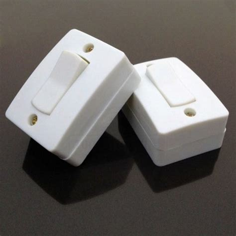 Bedside Switch 40pcs rocker plate wall switches push button switch