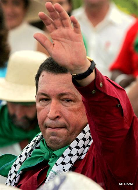 Supermodel Cbell Visits Chavez by Hugo Chavez Is But His Support For Palestine Continues