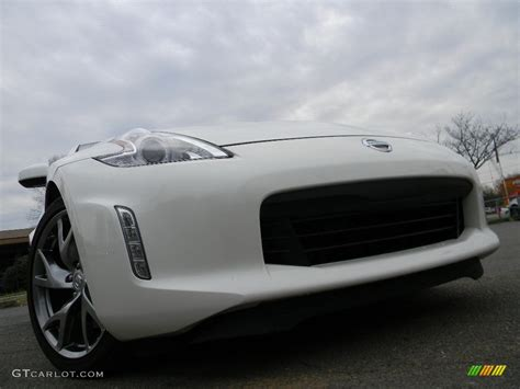 white nissan car 2016 pearl white nissan 370z sport coupe 119090644 photo