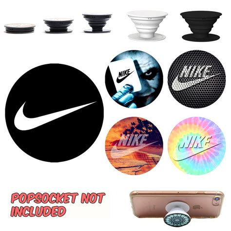 Iphone Grip Sticker nike popsocket decal sticker phone grip and holder