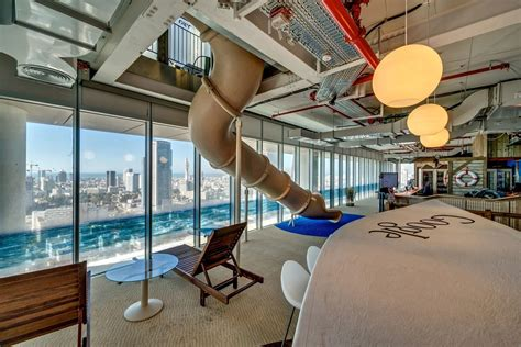 google tel aviv futuristic google tel aviv office by camenzind evolution 14