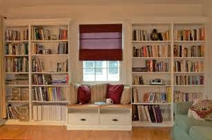 Builtin Bookcases Built In Bookshelves With Window Seat For Under 350