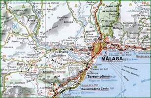 Malaga Spain Map by Pin Malaga Spain Map On Pinterest