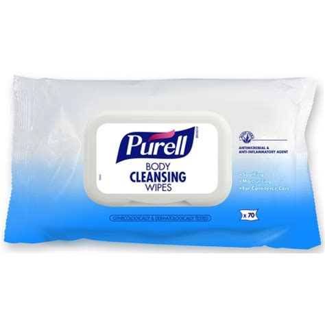 Detox Wipes by Purell 174 Cleansing Wipes 70 Wipe Flowpack 12 Pack