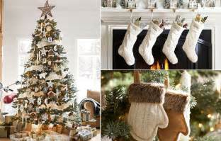 Ballard Design Bedding rustic christmas decorating ideas country christmas decor
