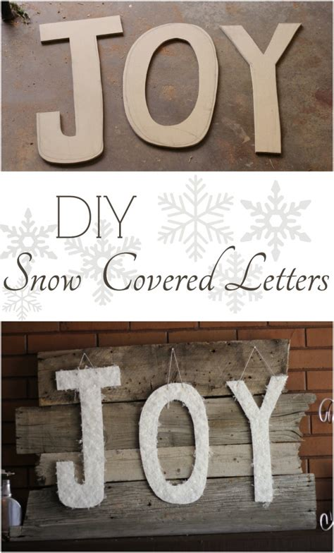 Snow Covered Letters snow covered letters hawthorne and