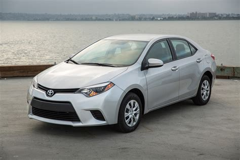 Toyota Vehicles 2016 2016 Toyota Corolla Gas Mileage The Car Connection