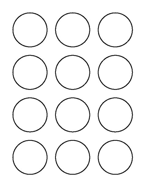 2 Inch Circle Pattern Use The Printable Outline For Crafts Creating Stencils Scrapbooking Circle Cut Out Template