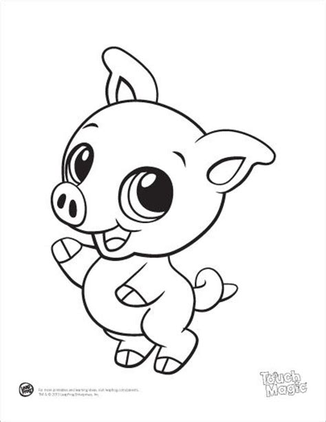 Colouring Pad Baby Animals leapfrog printable baby animal coloring pages pig projects coloring