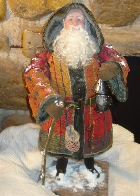 Handmade Santas - 17 best images about handmade santas on