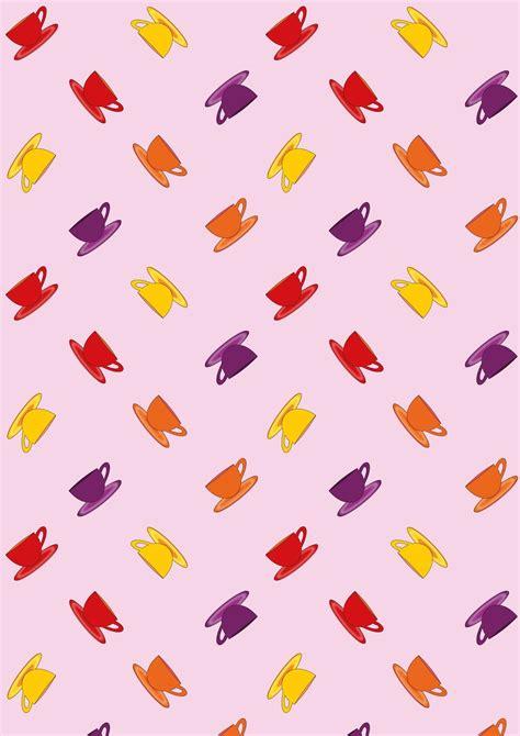 pattern paper cup free digital coffee cup scrapbooking paper ausdruckbare