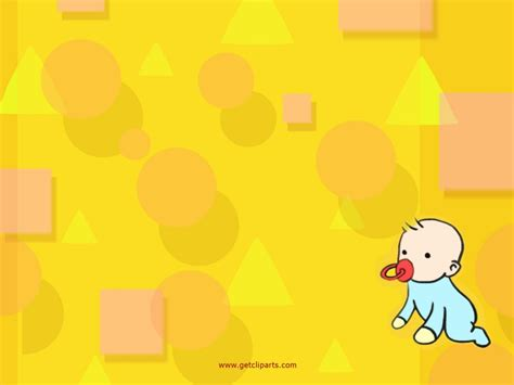 powerpoint themes baby cartoon baby picture cartoon baby wallpaper