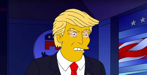 donald trump simpsons the simpsons predicted donald trump s presidency time
