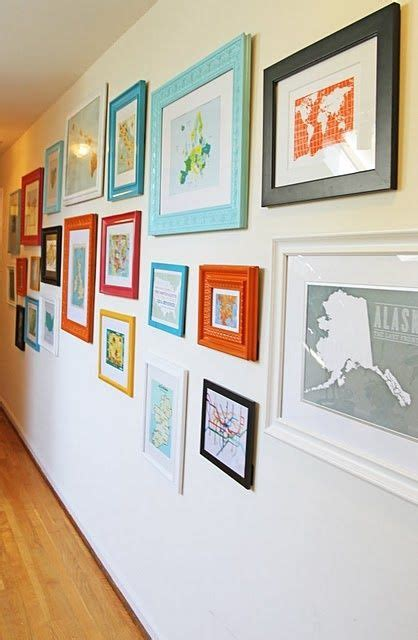 travel wall ideas travel wall buy a map or postcard from each place you