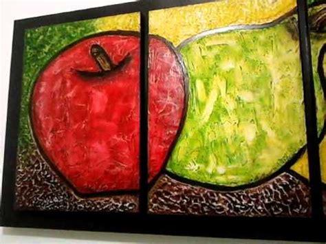 cuadro triptico cuadro tr 237 ptico de frutas
