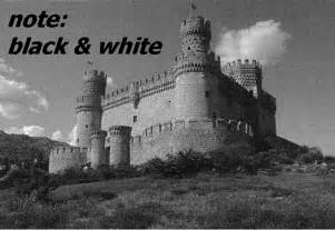 black and white are not colors afterimages