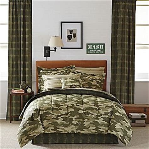 Camouflage Bedroom Set Army military camouflage bedding totally kids totally