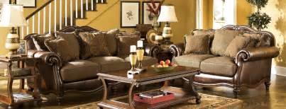 livingroom furniture set buy ashley furniture 8430338 8430335 set claremore antique