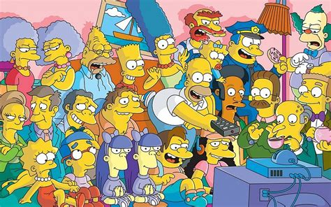 imagenes para fondo de pantalla los simpson el elenco de la serie de televisi 243 n los simpsons fondo de