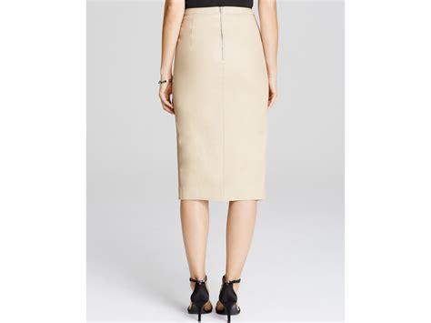 caramel pencil skirt dress
