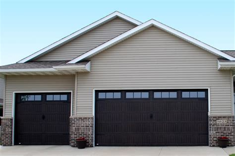 garage door door thermacore 174 steel garage doors