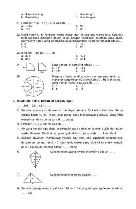 Matematika Kls Vii Semester Ii K13n soal bahasa inggris kls 3 sd 2014 newhairstylesformen2014