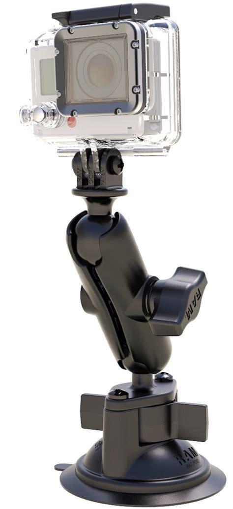 ram vantuzlu aksiyon kamera tutucu