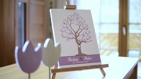 wedding tree fuer besondere anlaesse fingerabdruck