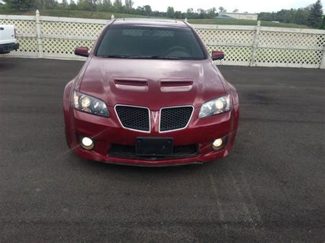 pontiac g8 gas mileage buy used 2009 pontiac g8 gxp sedan 4 door 6 2l in dayton