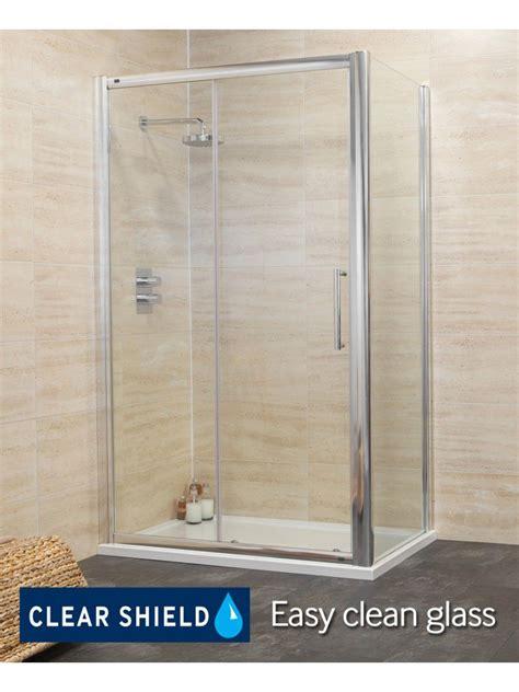 1500 Shower Door Rival 8mm 1500 X 800 Sliding Shower Door