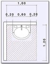 misure bagno minimo normas banheiro pne escola pesquisa