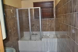 baignoire avec porte